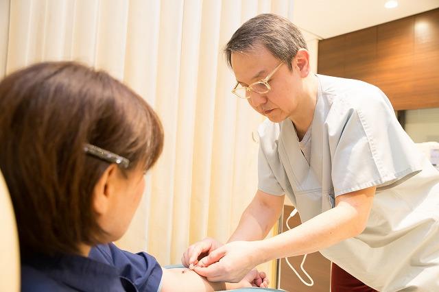 大阪の堂島クリニックでの血液クレンジングの流れ